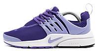 Женские кроссовки Nike Air Presto (найк аир престо) фиолетовые