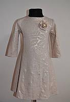 Детское платье, нарядное или повседневное, с четвертным рукавом