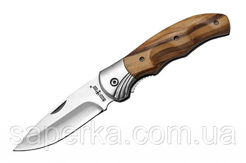 Нож универсальный с линейным замком Grand Way 6651 OW, фото 2