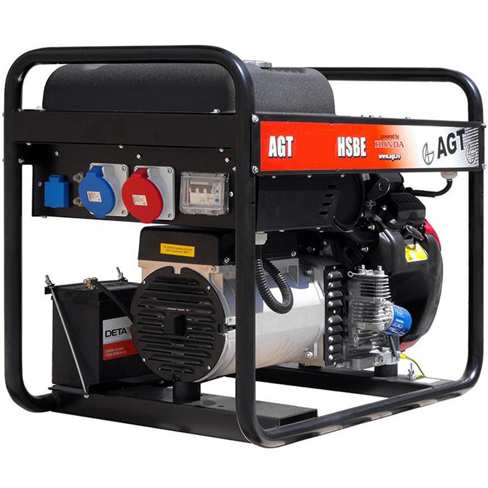 Бензиновый генератор AGT 11501 HSBE R16 AVR