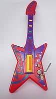 Игрушечная детская музыкальная гитара