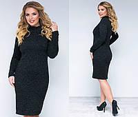 Женское  зимнее утепленное Платье ангора   р 48-50 и 50-52