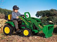 Детский электромобиль-экскаватор Peg Perego John Deere Ground Loader OR 0068