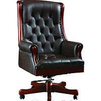 Кресло Линкольн Кожа Люкс Черный (671-B-PVC)