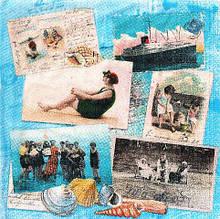 Салфетка декупажная Морская 2935