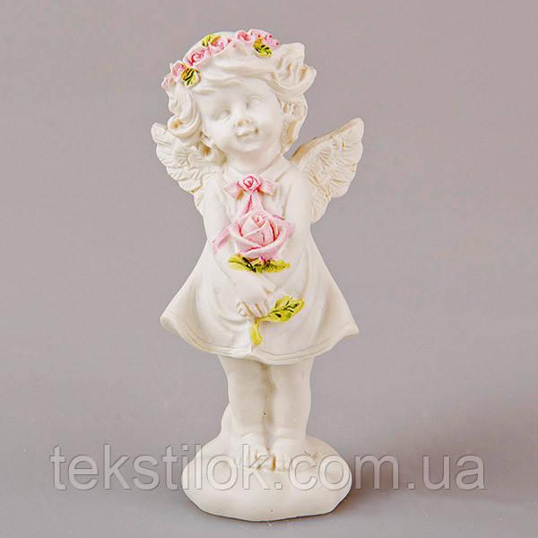 Статуетка Ангел з трояндою