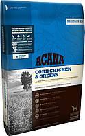 Acana Cobb Chicken & Greens Сухой корм для взрослых собак с курицей и зеленью 11,4кг