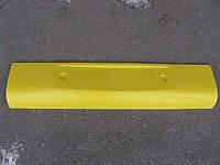 Бампер Богдан 092 перед. средняя часть белый , желтый,