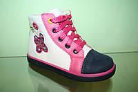 Весенние ботинки для девочки ТМ Meekone р 26-31