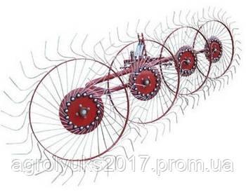 """Граблі колісно-пальцеві навісні ГВН 4,5-ти колісні """"Сонечко"""""""