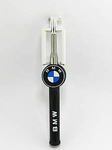 Монопод палка для селфи Mini Monopod Cartoon BMW + кнопка через 3,5