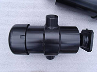 Гидроцилиндр подъема кузова ЗиЛ (554-8603010-27) 5-ти штоковый (шар-цапфы)