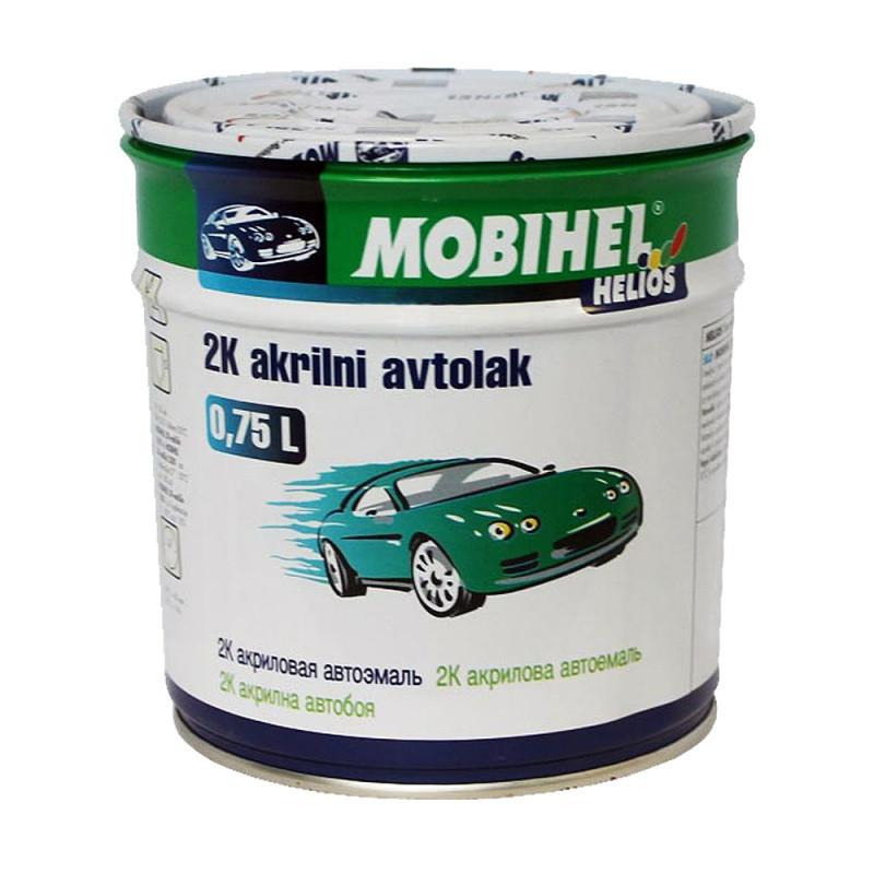 107 Баклажан Автоэмаль 2К акриловая Mobihel двухкомпонентная 0.75л.
