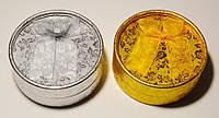 Коробочка для бижутерии, серебро, золото (6 шт)  28_3_29