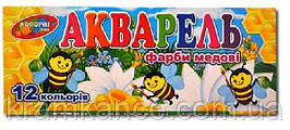 Краски КОЛОРИТ ТОН 12 цв. картонная упаковка