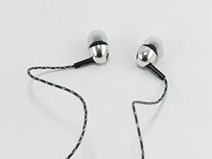 Гарнитура для телефона и MP3 плеера с микрофоном и кнопкой ответа, Night Light, Черная