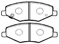 Тормозные колодки CHERY AMULET/Чери Амулет (A15) 1.6I (+ABS) 02/2003- дисковые передние, Q-TOP QF2906E