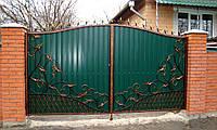 Ворота кованые Діана