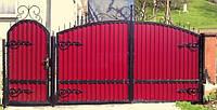 Ворота кованые Нана