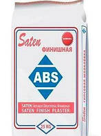 Финишная гипсовая шпаклевка ABS Saten DecoSilk, 25 кг.