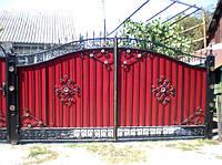Ворота кованые Гера
