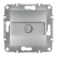 Schneider Electric Asfora Алюминий Розетка ТВ концевая 1dB без рамки