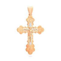 Золотой  ажурный крест