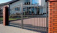 Ворота кованые Марта