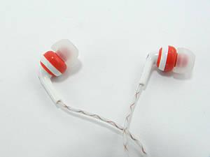 Гарнитура для телефона и MP3 плеера с микрофоном и кнопкой ответа, Night Light, Красная