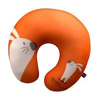 Мягкая игрушка антистресс подушка заяц 28х28 см