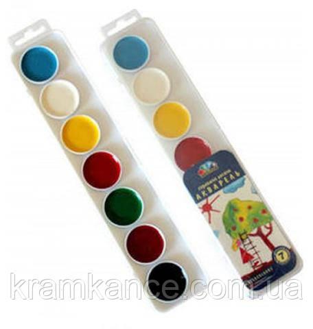 Краски ГАММА 7 цв. платиковая упаковка