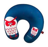 Мягкая игрушка антистресс подушка сова 28х28 см