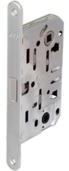 Корпус замка основной под ручку для межкомнатных дверей магнитный mediana polaris wc b04102.50.34 матовый хром Agb  - Интернет-магазин «ShopBox» в Днепре