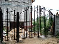Ворота кованые Нора
