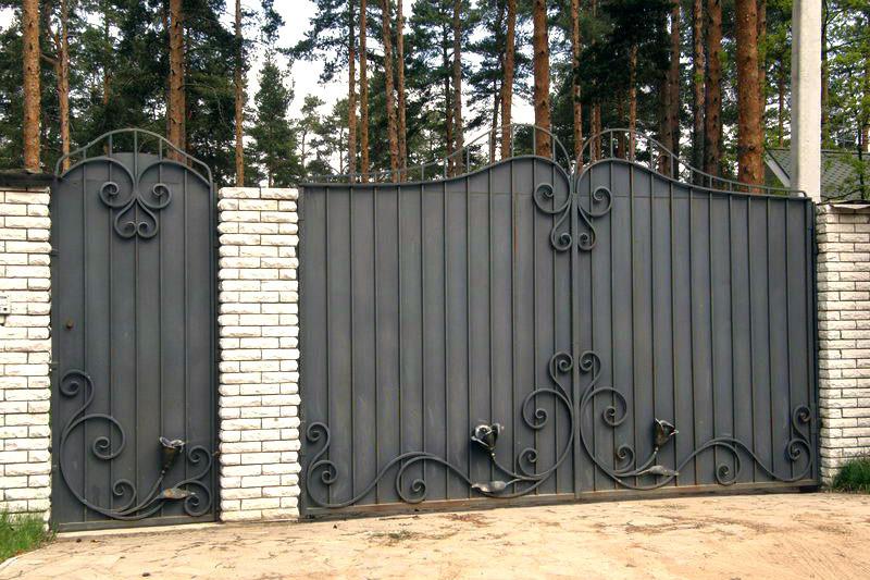 Ворота ковані Ріта ( Рита)