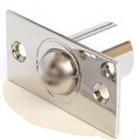 Шариковый фиксатор для межкомнатной двери R-0001 CR хром Apecs