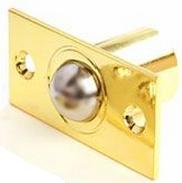 Шариковый фиксатор для межкомнатной двери R-0001 G золото Apecs