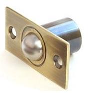 Шариковый фиксатор для межкомнатной двери R-0001 AB античная бронза Apecs
