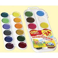 Краски ГАММА 24 цв. платиковая упаковка