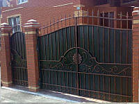 Ворота кованые Искра