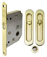 Замок для раздвижных дверей Sl-155/4120 полированная латунь RDA
