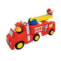 Развивающая игрушка Kiddieland Пожарная машина механическая (43265)