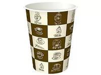 Бумажные стаканчики 250мл с рисунком (50 шт.)