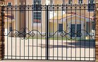 Ворота кованые Ельза
