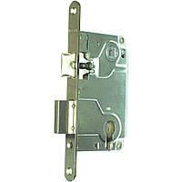 Корпус замка основной под ручку для межкомнатных дверей цилиндровый centro B.01025.50.06 никель Agb