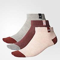 Три пары носков Performance Adidas женские и мужские размеры S99893 - 2017