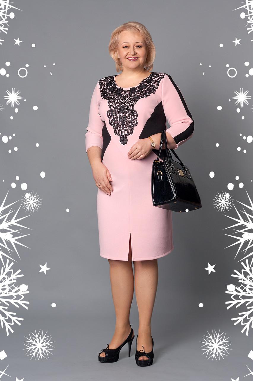 9429df5c83a Купить оптом Нарядное женское платье больших размеров в Хмельницком ...