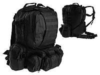 Тактический рюкзак Mil-TEC Defence 44L Черный, фото 1