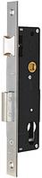 Корпус замка для профильных дверей Profile Lock 726 (30/85) SS нержавеющая сталь Santos