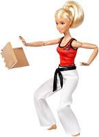 Кукла Барби подвижный Мастер Боевых Искусств Barbie Made to Move The Ultimate Posable Martial Artist Doll, фото 1